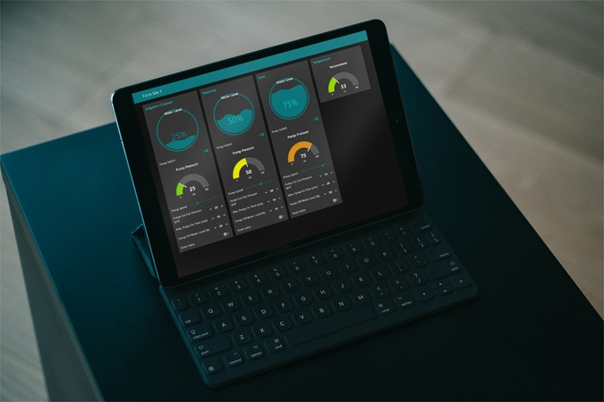 IoT Cloud Dashboard Development