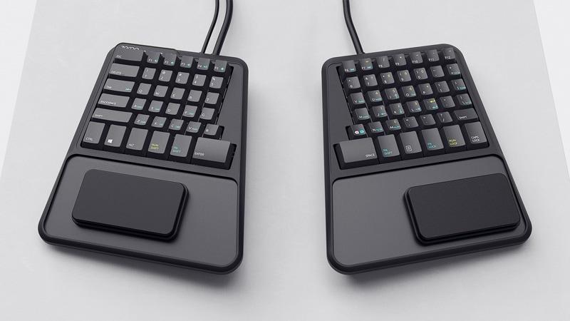 Zergotech Keyboard Industrial Design