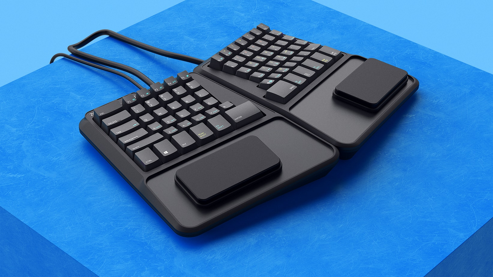 Rendering of a keyboard
